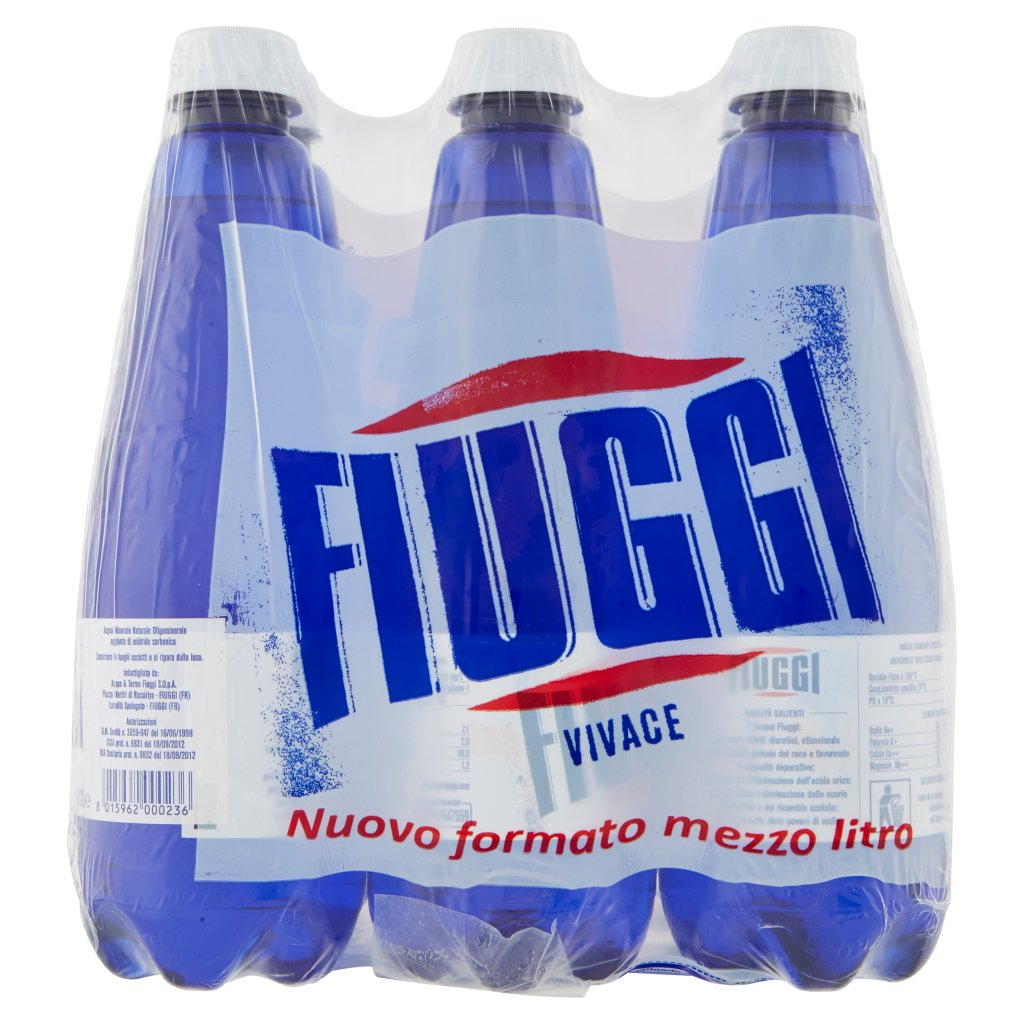 Fiuggi Vivace 6 x 0,5 Lt