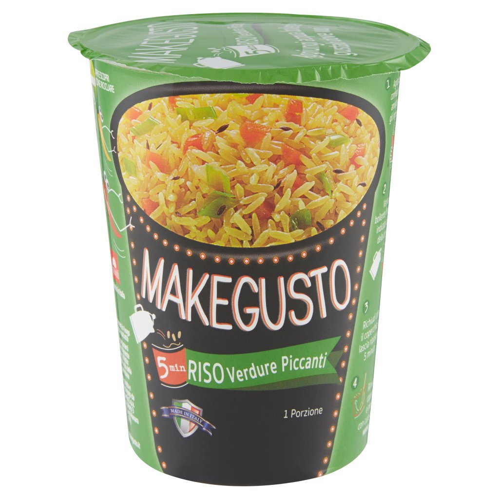 Makegusto Riso Verdure Piccanti
