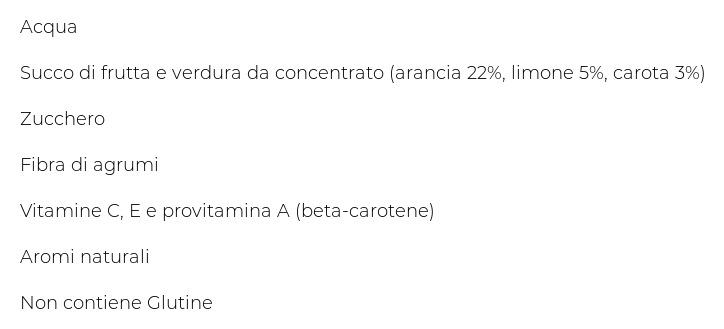 Santàl Ace Arancia, Limone, Carota