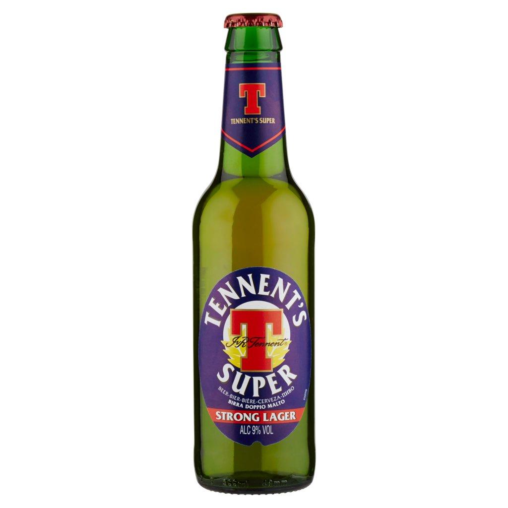 Tennent's Tennent's Super Birra Strong Lager Doppio Malto Bottiglia 35,5cl