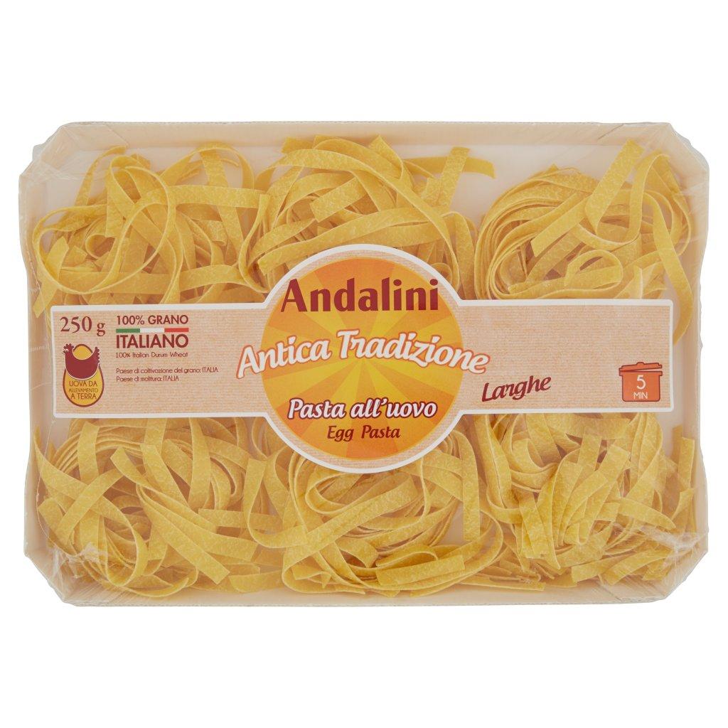 Andalini Antica Tradizione Pasta all'Uovo Larghe
