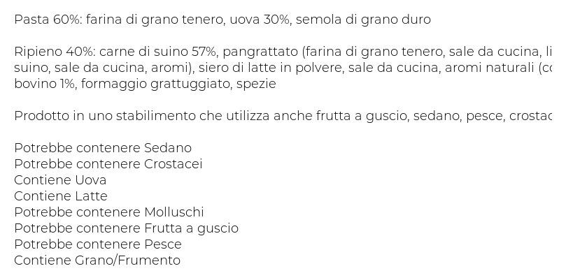 Giovanni Rana Ristorante Tortellini Carne