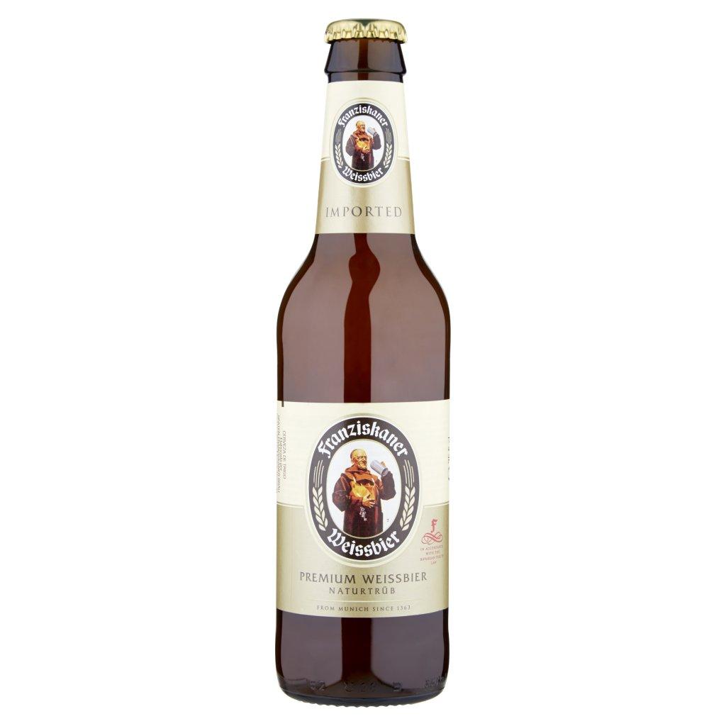 Franziskaner Premium Weissbier Naturtrüb 35,5 Cl