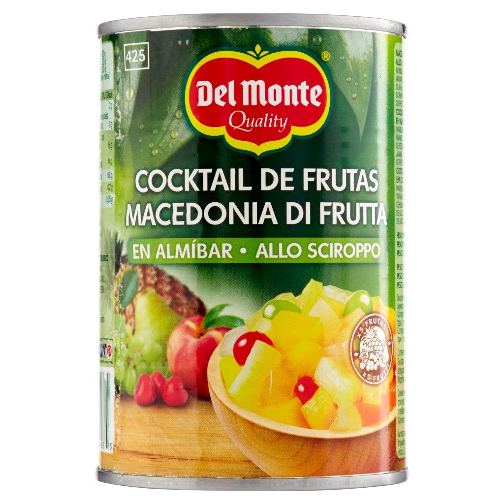 Del Monte Macedonia di Frutta allo Sciroppo