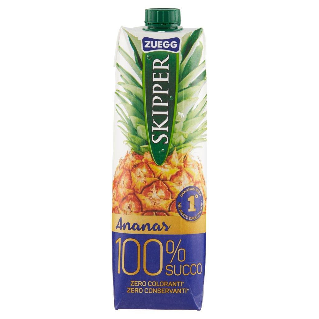 Zuegg Skipper 100% Succo Ananas Confezione 1000 Ml 1