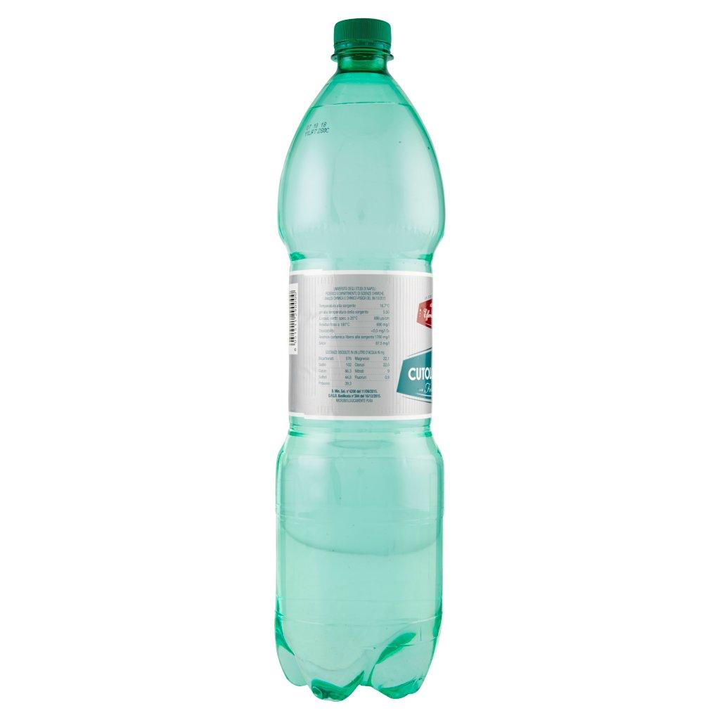 Cutolo Rionero Acqua Minerale Effervescente Naturale 1,5 l