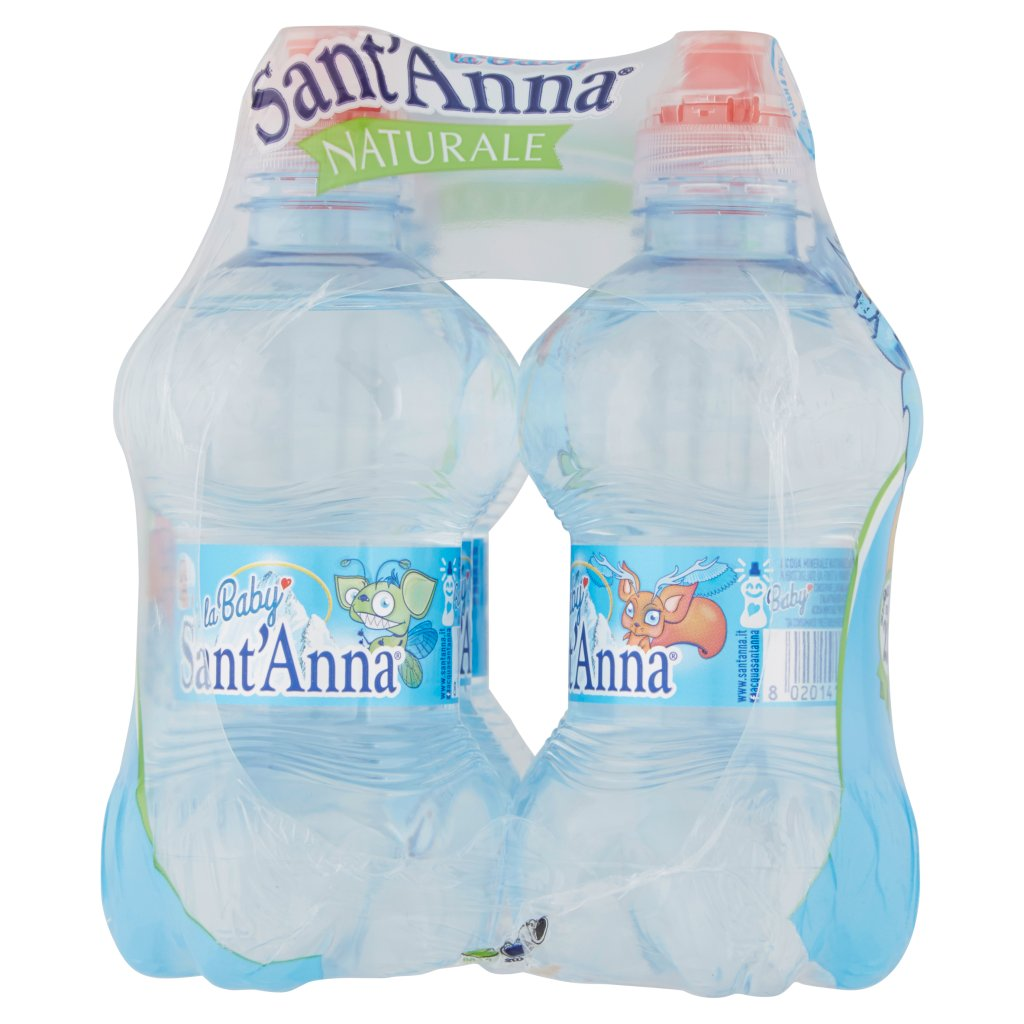 Sant'anna La Baby Naturale Sorgente Rebruant Vinadio 6 x 0,25 l Imballaggio 6 Bottiglie Da 0,25 L 4