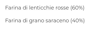 Moro Legumé Lenticchie Rosse e Grano Saraceno