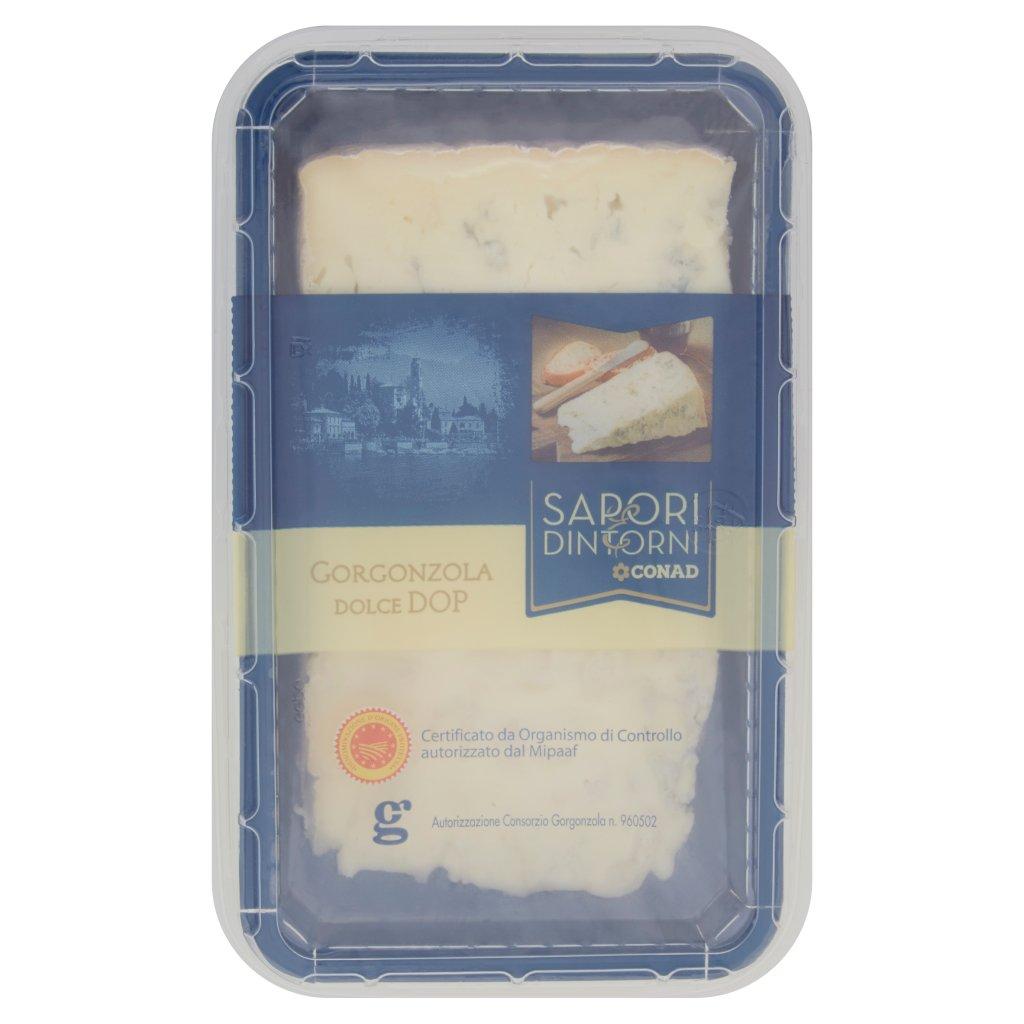 Sapori & Dintorni Conad Gorgonzola Dolce Dop Confezione 200 G 1