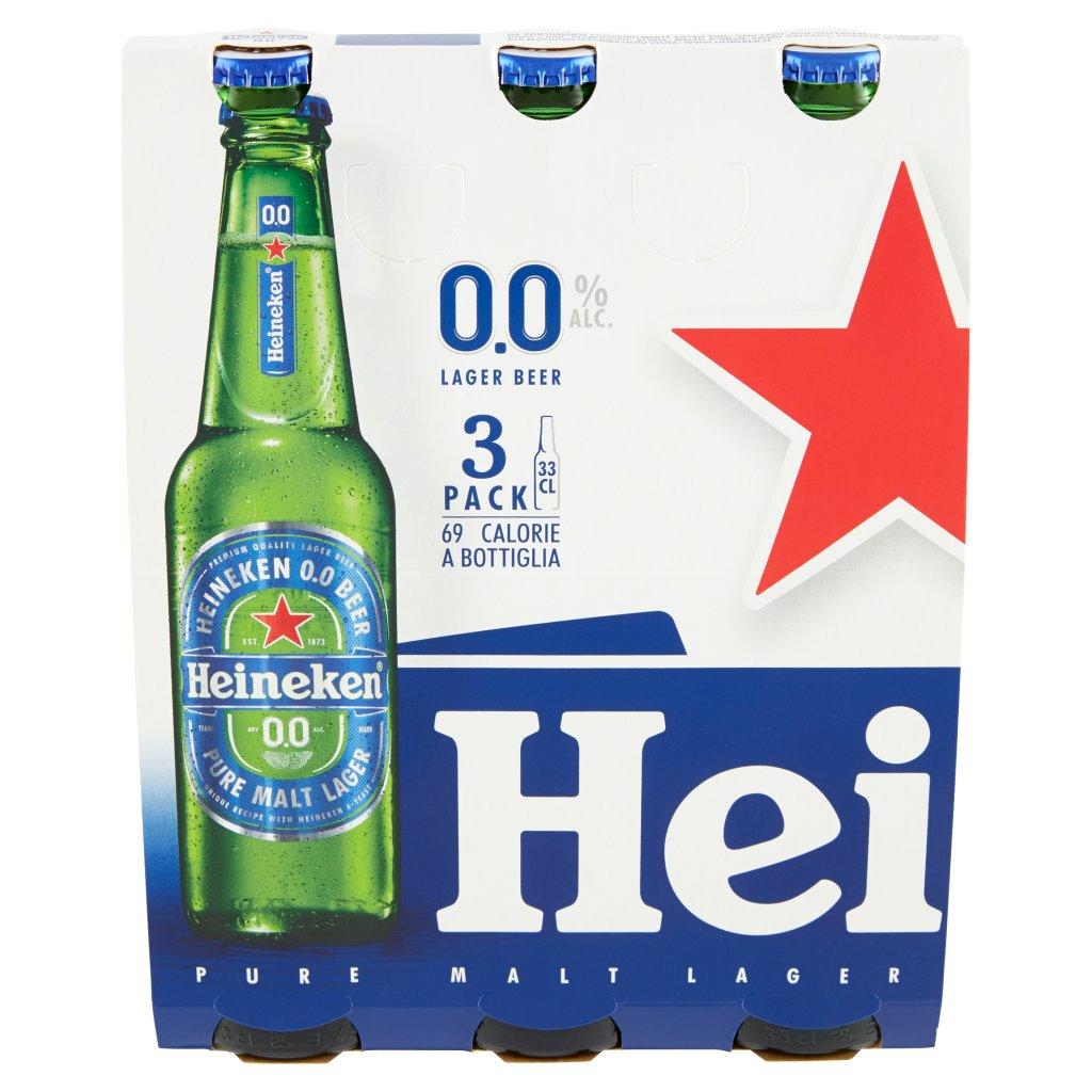 Heineken 0.0 Confezione 3X33Cl