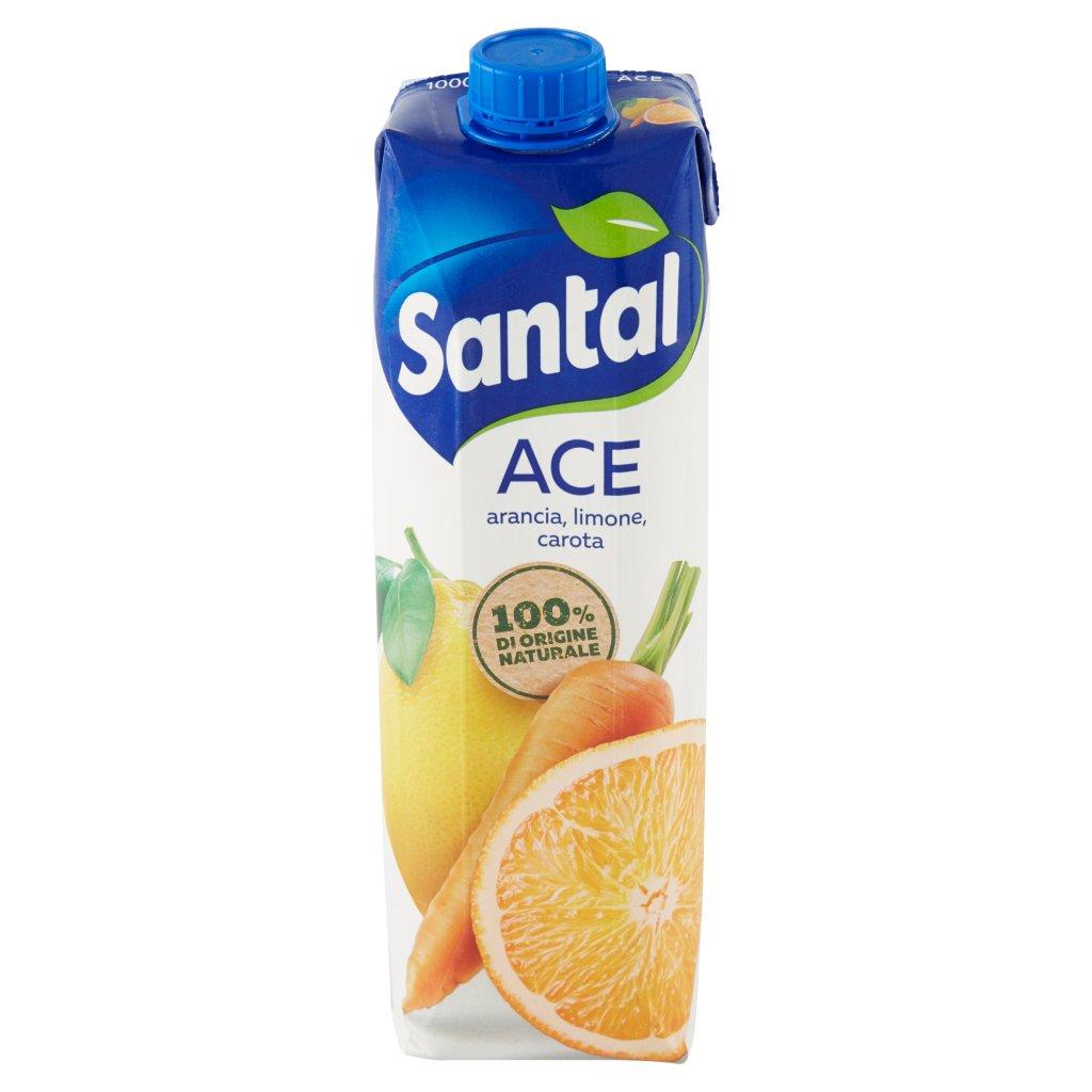 Santàl Ace Arancia, Limone, Carota Confezione 1000 Ml