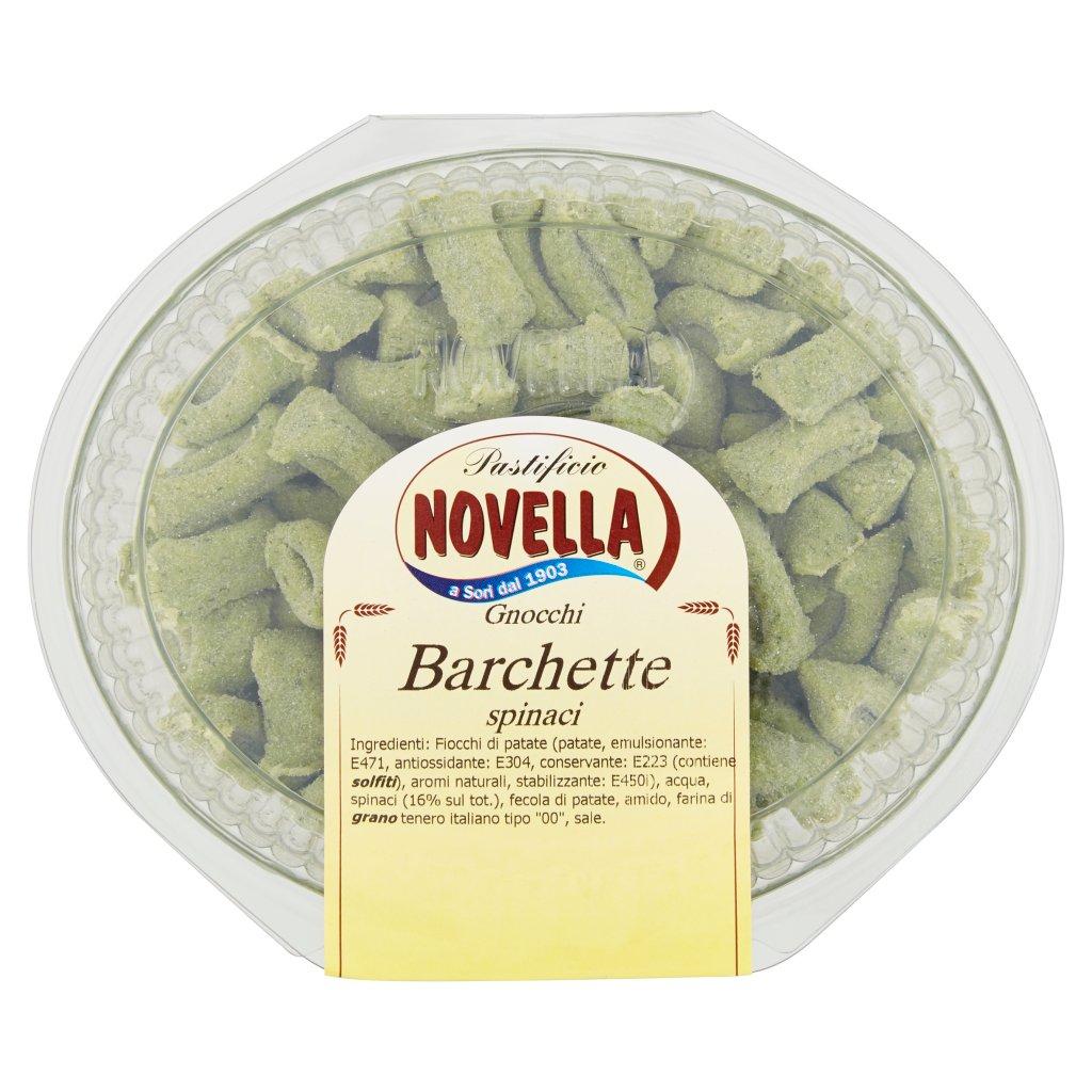 Pastificio Novella Barchette Spinaci