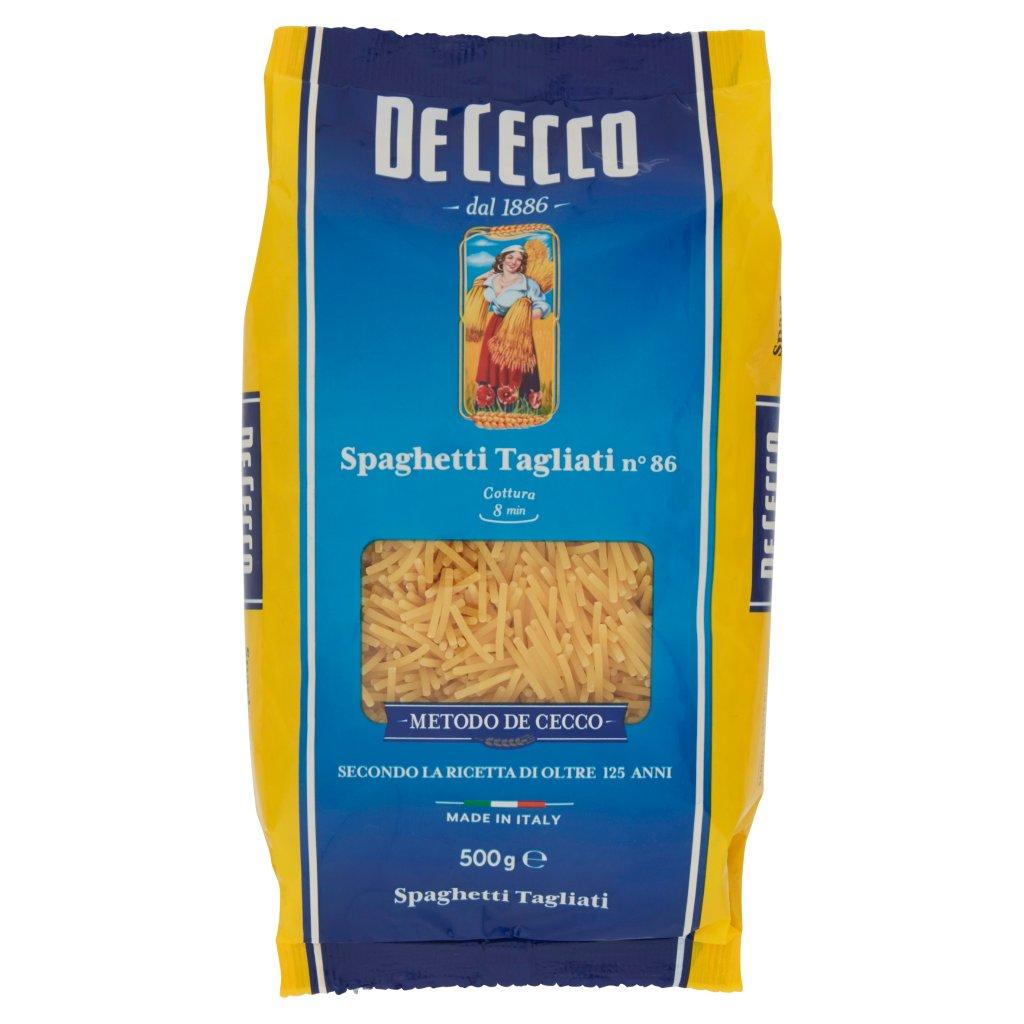 De Cecco Spaghetti Tagliati N° 86