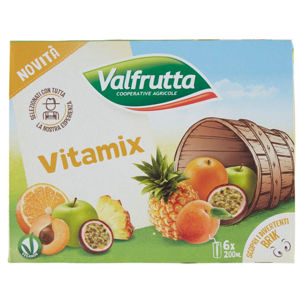 Valfrutta Vitamix 6 x 200 Ml