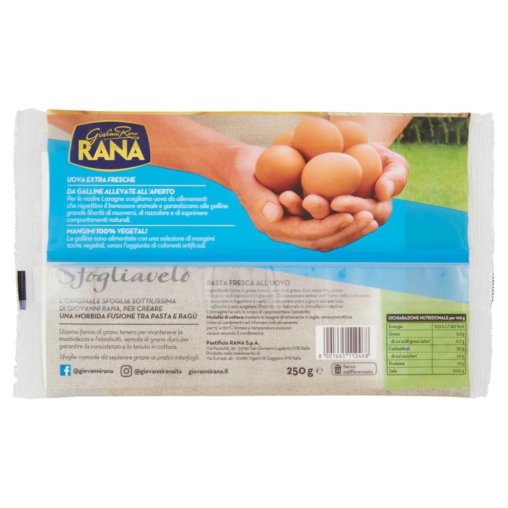 Giovanni Rana Sfogliavelo Lasagne Fresche all'Uovo