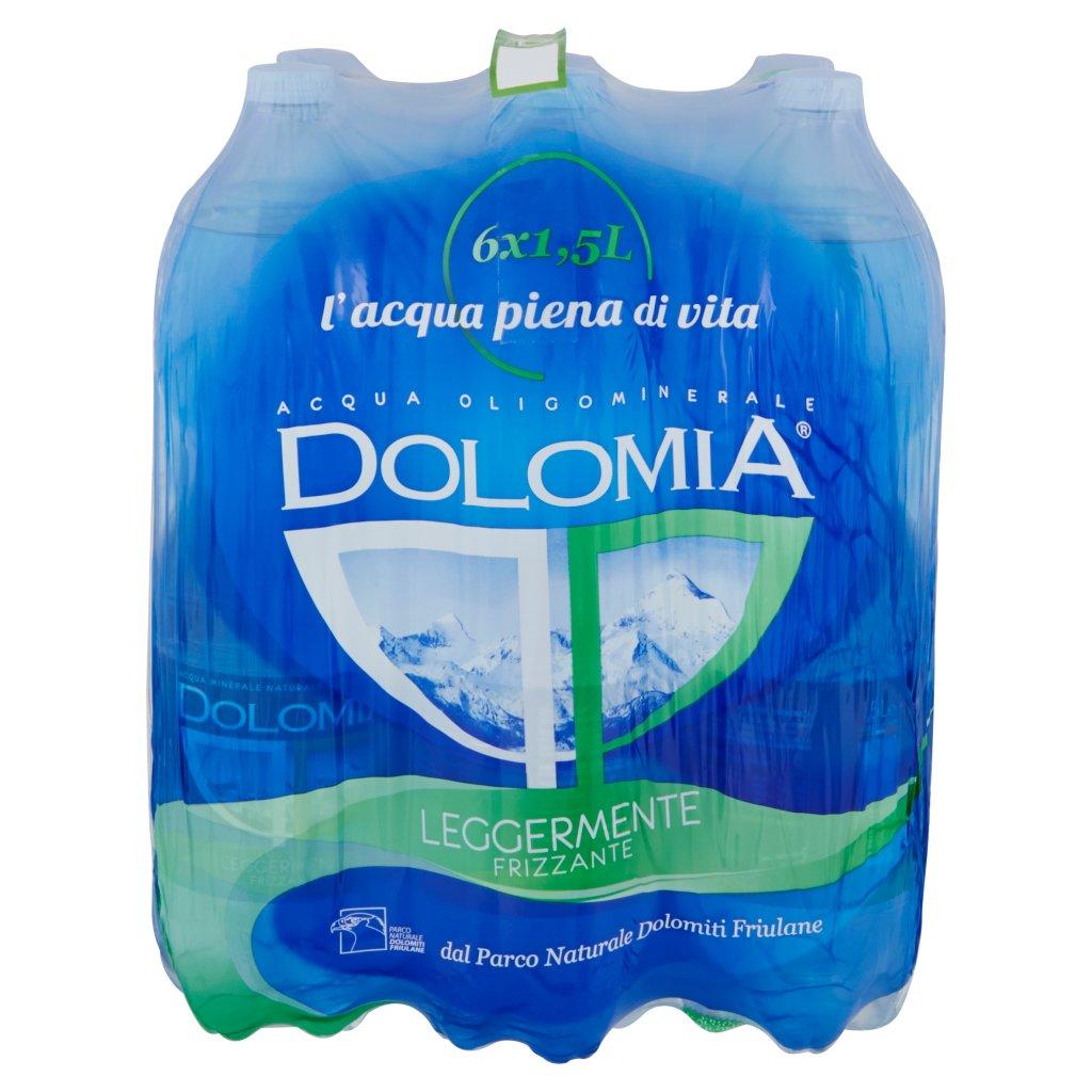 Dolomia Acqua Oligominerale 1,5l x 6 Bt Classic Leggermente Frizzante