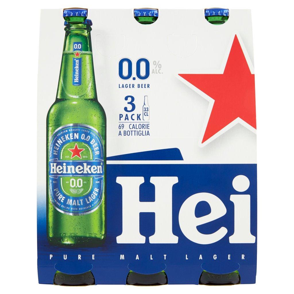Heineken 0.0 Confezione 3X33Cl 1