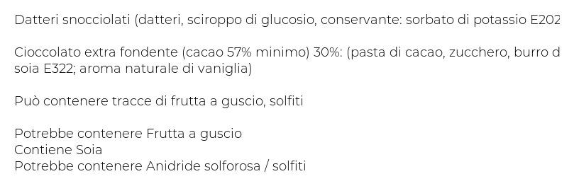 Francesca Datteri al Cioccolato Fondente