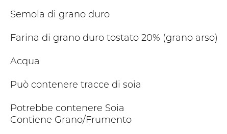 Masserie del Salento Le Speciali Pasta Secca con Grano Arso Maritati