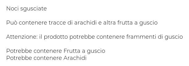 Mister Nut Noci di Romagna Sgusciate