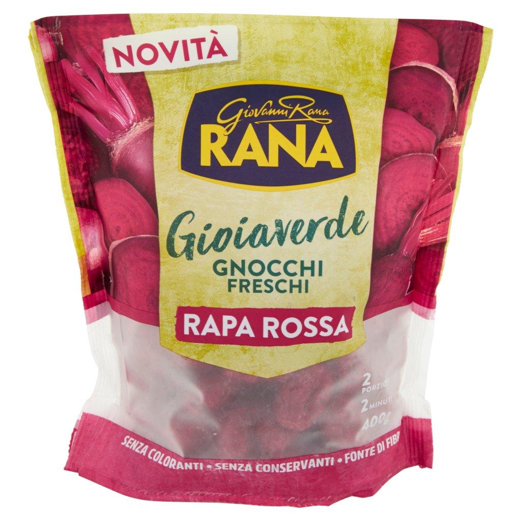 Giovanni Rana Gioiaverde Gnocchi Freschi Rapa Rossa