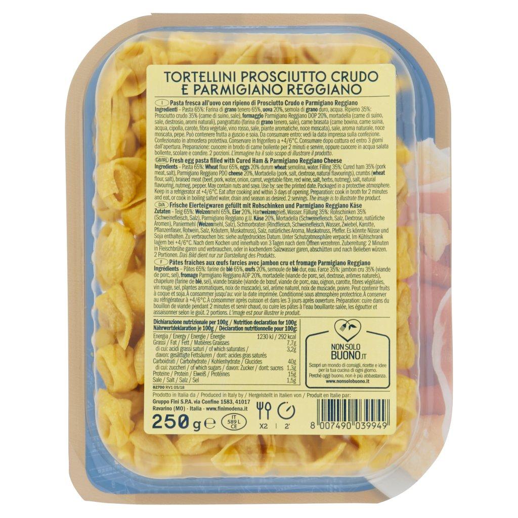 Fini Antica Ricetta 1912 i Tortellini Prosciutto Crudo e Parmigiano Reggiano