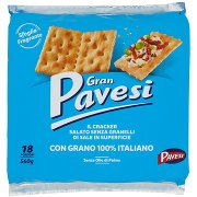 Gran Pavesi Il Cracker Salato senza Granelli di Sale in Superficie