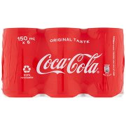 Coca Cola Taste 150ml x 6 (Lattina)