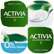Activia 0% Grassi Naturale 4 x 125 g
