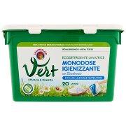 Vert di Chanteclair Lavatrice Monodose Igienizzante con Bicarbonato 20 Lavaggi