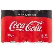 Coca Cola Zero Zero Zuccheri Zero Calorie