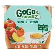 Gogo Squeez Frutta al Cucchiaio Mela Pesca Albicocca 4 x 100 g