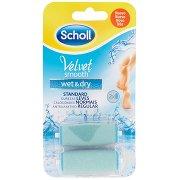 Scholl Velvet Smooth Wet & Dry Testine Rotanti 2 Pz