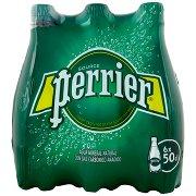 Perrier , Acqua Minerale Naturale Frizzante, Rinforzata con il Gas della Sorgente, 50clx6