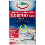 Equilibra Olio di Pesce 1000 60 Capsule Vegetali 84,3 g
