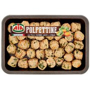 Aia Polpettine con Pollo, Tacchino, Carote e Spinaci 0,400 Kg