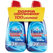 Finish All in 1 Max Power Gel 3x Poteri di Brillantezza & Protezione 2 x 1 l