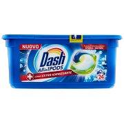 Dash Pods Allin1 Detersivo Lavatrice in Capsule + Azione Extra-igienizzante 24 Lavaggi