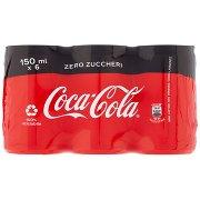 Coca Cola Zero 150ml x 6 (Lattina)
