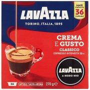 Lavazza a Modo Mio , Crema e Gusto Classico Caffè Espresso - 36 Capsule Salva Aroma