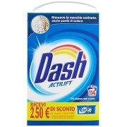 Dash Detersivo in Polvere Lavatrice 114 Misurini