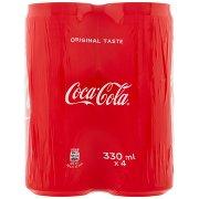 Coca Cola Taste 330ml x 4 (Lattina)