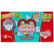 Pampers Baby-dry Mutandino Esa Maxi X138