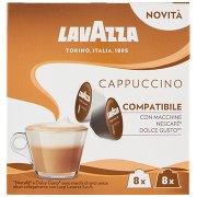 Lavazza Cappuccino Compatibile con Macchine Nescafé Dolce Gusto* 8 + 8 Capsule