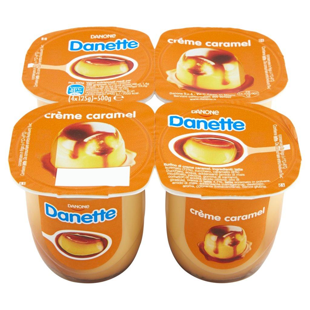 Danette Crema Dessert Gusto Crème Caramel