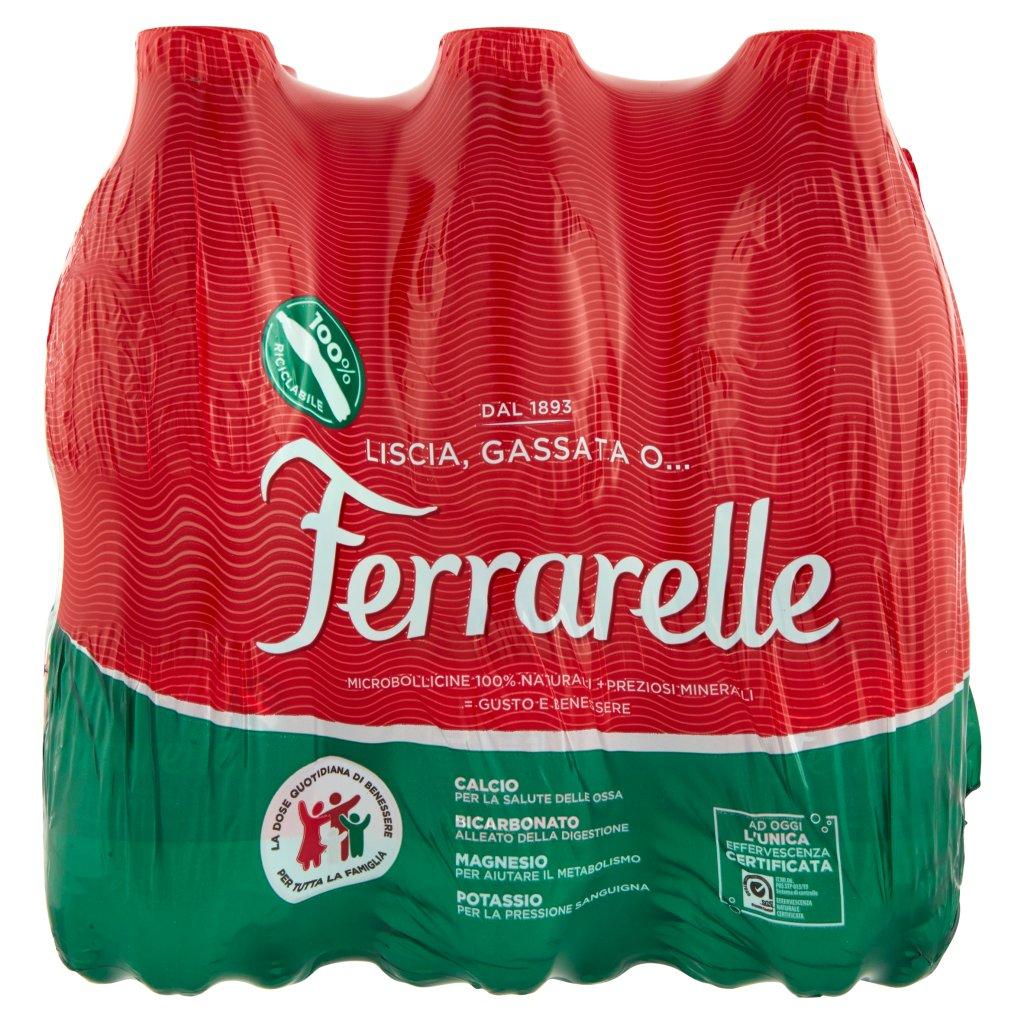 Ferrarelle 6 x 0,5 l Imballaggio 6 Bottiglie Da 0,5 L 2