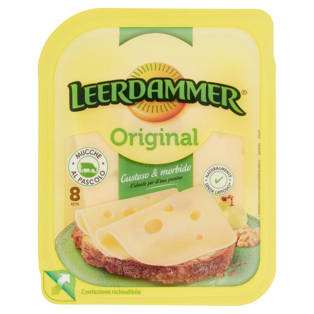 Leerdammer Original 8 Fette 8 x 20 g Confezione 160 G 1