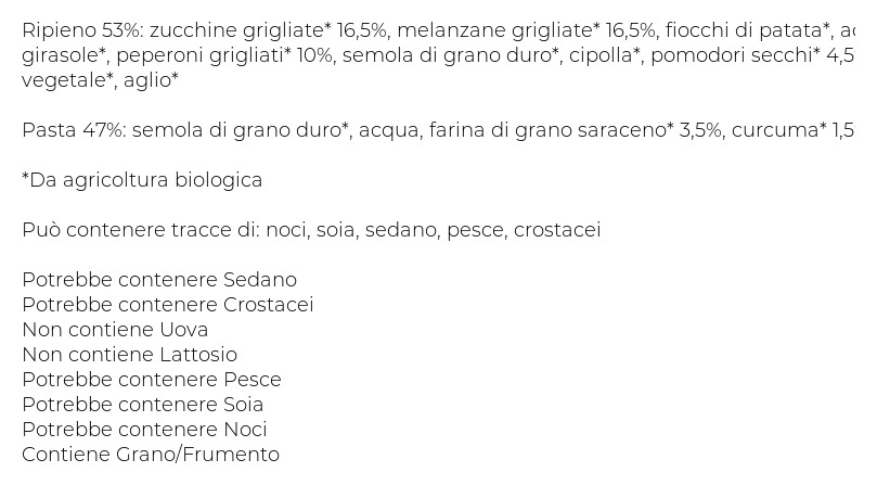 Scoiattolo Girasoli Bio Verdure: Zucchine, Melanzane e Peperoni