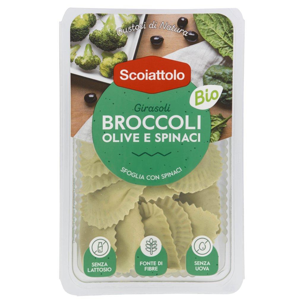 Scoiattolo Gustosi di Natura Girasoli Broccoli Olive e Spinaci Bio