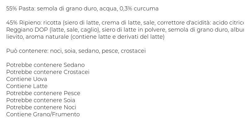Scoiattolo Pennette Ripiene con Parmigiano Reggiano